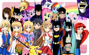 .: The Bat Family and Everything Cute :. by Sincity2100