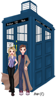 Doctor Who by Ashuri