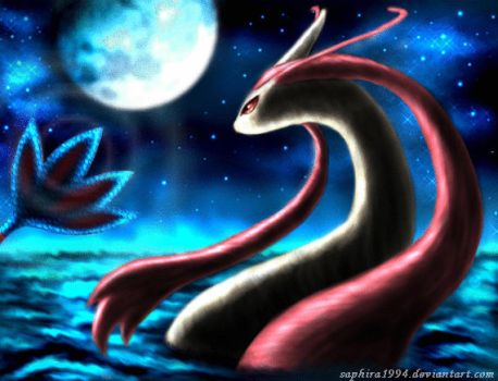 Milotic - ANIMATION by Sapphiresenthiss