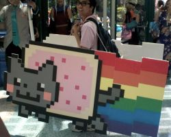 lol nyan cat cosplay by shayminlover492