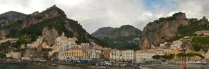 Amalfi Panoramic by chuckish