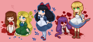 The Girls by MantaTheMisukitty