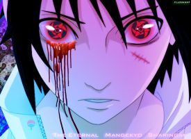 the eternal mangekyou sharingan by fluxman1