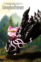 Tentacle Kitty Loves Dragons by TentacleKitty