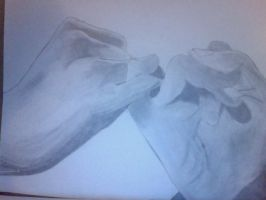 Art Project - Creative Hand by zebrahead101