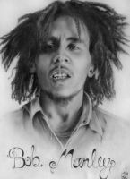 Bob Marley by electriclover