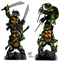 Teenage Mutant Ninja Turtles 3 by paranoidpatriot