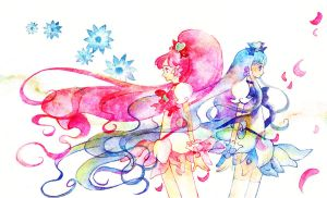 Precure: when flower scatters by muttiy