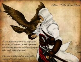 Altair and Eagle by mialove01