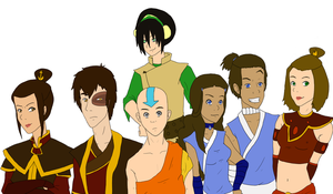 Avatar:The Last Airbender by Alexia33024