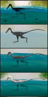 Swimming Raptor Step by Step by ChrisMasna