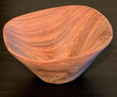 Rosewood Bowl Sanded by lamorth-the-seeker