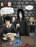 Potions aka messing with harry by str4yk1tt3n