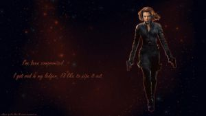 Black Widow wp by ViraMors