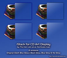 iStack for CD Art Display by TheIronLion