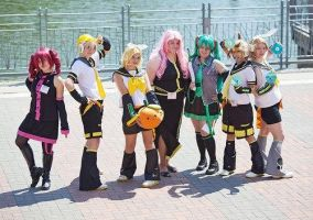 Vocaloid Group by oki-cospi