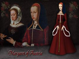 Margaret of Austria by Nurycat