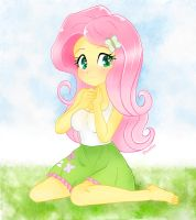 Fluttershy~ Equestria girls by iMoshie