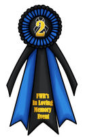 FWR ILME 2nd Place Ribbon by evil-firewolf