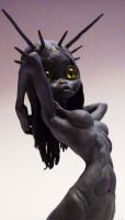 demon sculpture by DRKRT