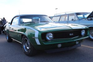 Green SS Convertible by KyleAndTheClassics