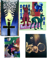 some paintings by emlan