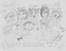 Happy Holidays 2012 by T95Master