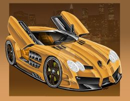 Golden Benz by Britt8m