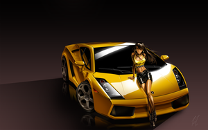 Gallardo Lady by Jonzy