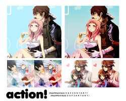 Action Love Anime by SmashReckless