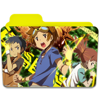 Digimon Tamers 3 Folder Icon Serie TV by AnxoX
