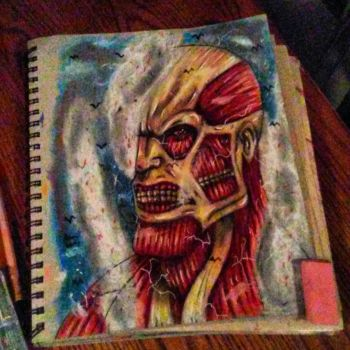 the colossal titan by xprotector10