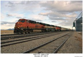 BNSF 6721, 9580 + 7297 by hunter1828