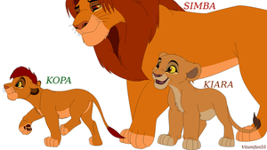 Happy Family The Lion King by Vitanifan55