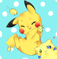 Attack on Pikachu! by TheCaptainRei