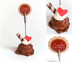 Ice Cream Note holder by CreativeAbubot