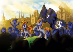 Wave the Flag by SonicPegasus