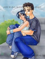 jilly and mikey by buki