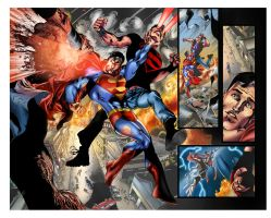 BN SUPERMAN 3 PAGES 4 AND 5 by ColoristKamui