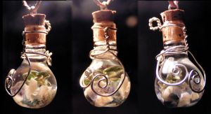 Magic Vial - Winter Wind by Izile