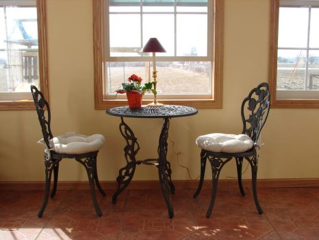 Sunroom Table and Chairs by FantasyStock