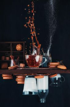 Upside and Down Again (with coffee) by dinabelenko