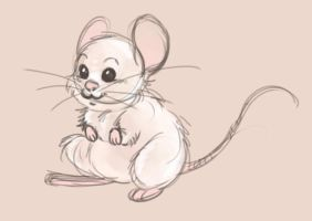 little mouse by MoonLightRose17