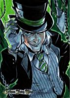 Zenescope Sketchcard Grimm Fairy Tales: Mad Hatter by BeaGifted