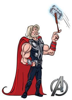 Avengers Thor by TuaX