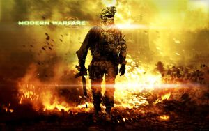 Modern Warfare 2 Wallpaper by Harkke