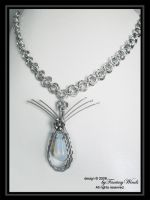 Mobius Moon Choker by fantasywinds