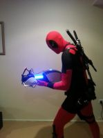 Deadpool and... Portal? by Wh1plash