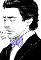 My first pic..and I love RDJ.. by Hallpen