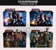 Guardians of the Galaxy 2014 Folder Icon by sonerbyzt